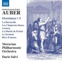 Auber: Overtures Vol. 3