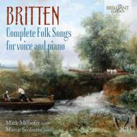 Britten: Complete Folk Songs for voice and piano