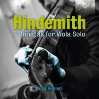 Hindemith: 4 Sonatas for Viola Solo