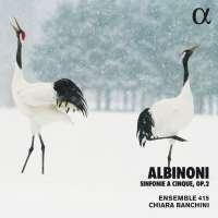 Albinoni: Sinfonie a Cinque Op. 2