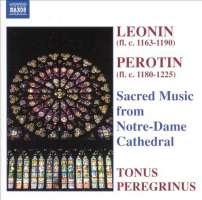 LEONIN  /  PEROTIN: Sacred music from Notr