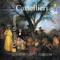 Cartellieri: Clarinet Quartets