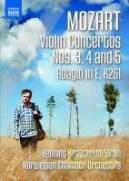 Mozart: Violin Concertos 3 ,4, 5