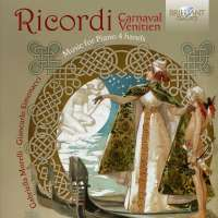 Ricordi: Carnaval Vénitien, Music for Piano 4 Hands