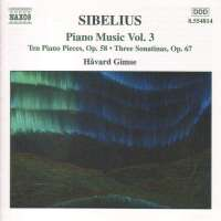 SIBELIUS: Piano Music, Vol. 3