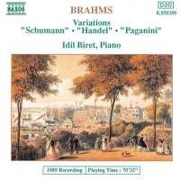 Brahms: Variations, Opp. 9, 24 and 35