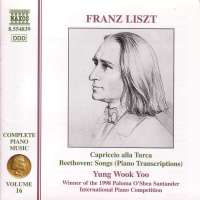 LISZT: Piano Music vol.16