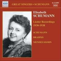Elisabeth Schumann - Lieder Recordings