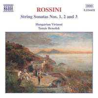ROSSINI: String Sonatas 1+2+3