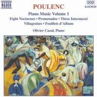 POULENC: Piano Music vol. 1