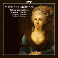 Martines: Dixit Dominus - Psalms 110 & 115