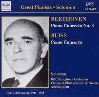 Beethoven: Piano Concerto No. 3 / Bliss: Piano Concerto