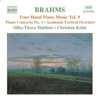 BRAHMS: Four hand piano music vol. 9