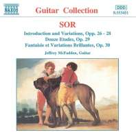 SOR: Introduction and Variations Opp. 26-28, Etudes Op. 29