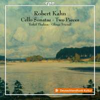 Kahn: Cello Sonatas; Two Pieces