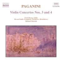 PAGANINI: Violin Concertos 3 & 4