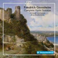Gernsheim: Complete Violin Sonatas
