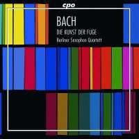 Bach: Die Kunst der Fuge BWV 1080 for 4 saxophones