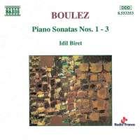 BOULEZ: Piano Sonatas 1-3