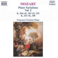 MOZART: Piano Variations vol. 2