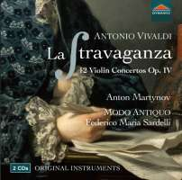 Vivaldi: La Stravaganza, 12 Violin Concertos Op. 4