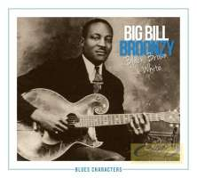 Broonzy, Big Bill: Black, Brown & White; seria Blues Characters