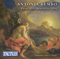 Bembo: Produzioni Armoniche, 1701