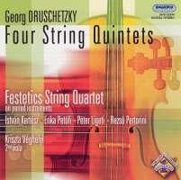 Druschetzky: Four string quintets