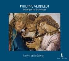 Verdelot: Madrigals for four voices