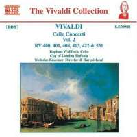 VIVALDI: Cello Concertos Vol. 2