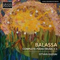 Balassa: Piano Music 3