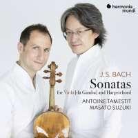 WYCOFANY  Bach: Sonatas for Viola da Gamba and Harpsichord