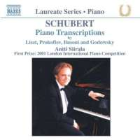 SCHUBERT: Piano transcriptions
