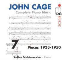 Cage: Complete Piano Music vol. 7