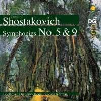 Shostakovich : Symphony no. 5 & 9