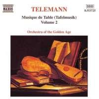 TELEMANN: Tafelmusik vol. 2