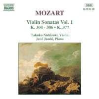 MOZART: Violin Sonatas K304306, K377