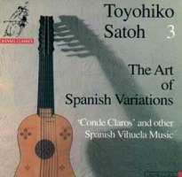 The Art of Spanish Variations  vol.3