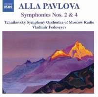 PAVLOVA: Symphonies nos. 2 & 4