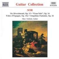 SOR: 6 Divertimenti, Op. 13, Cinquieme Fantaisie, Op. 16