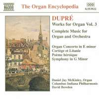DUPRE: Works for Organ vol. 3