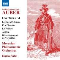 Auber: Overtures Vol. 4