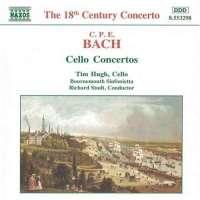 Bach C.P.E.: Cello Concertos