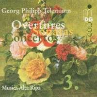 Telemann: Overtures, Sonatas & Concertos