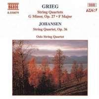 GRIEG / JOHANSEN: String Quartets