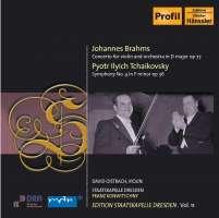 BRAHMS / TCHAIKOVSKY: Violin concertos