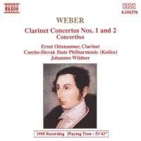 Weber: Clarinet Concertos 1 + 2