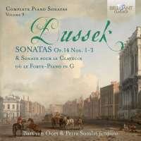Dussek: Complete Piano Sonatas Vol. 9 - Op. 14, nos. 1 - 3
