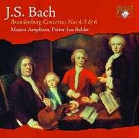 Bach: Brandenburg Concertos Nos. 4 - 6