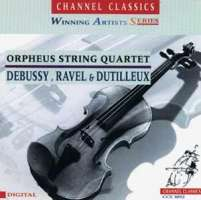 ORPHEUS QUARTET - Debussy, Ravel & Dutilleux